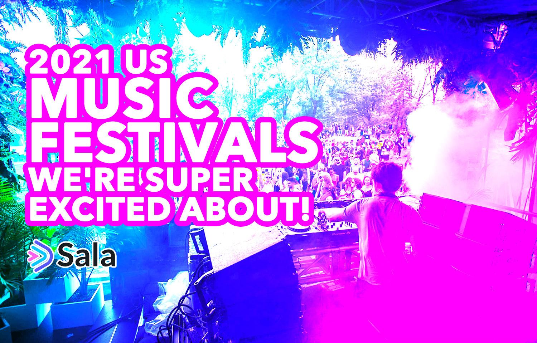 2021 US Music Festivals