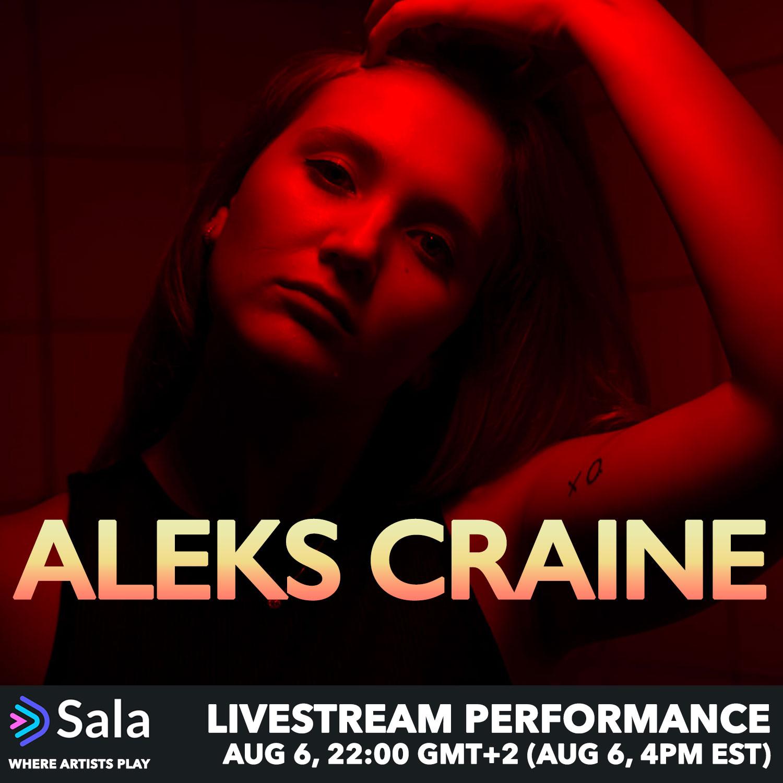 Aleks Craine on Sala.Live