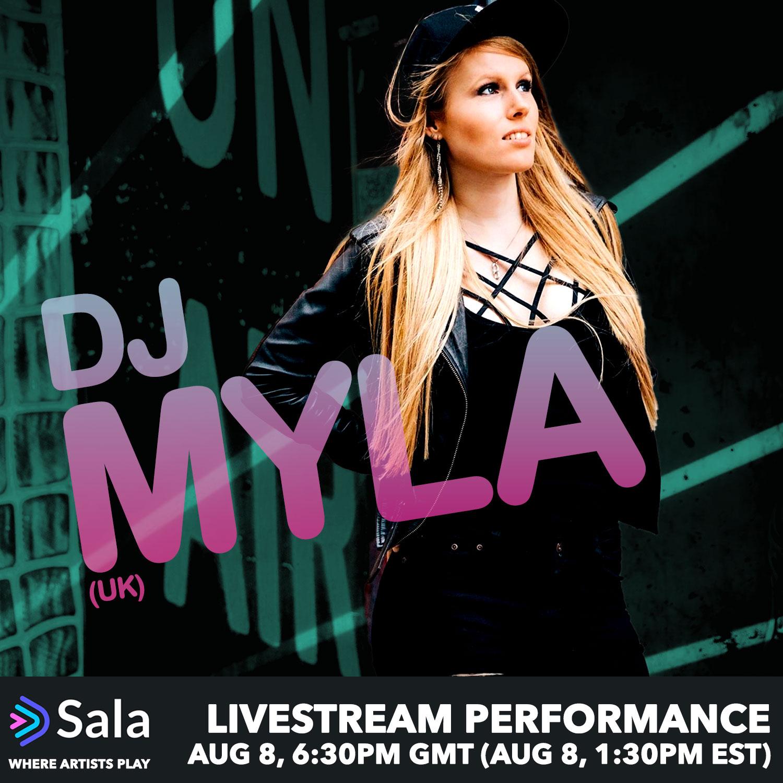 DJ Myla on Sala.Live!